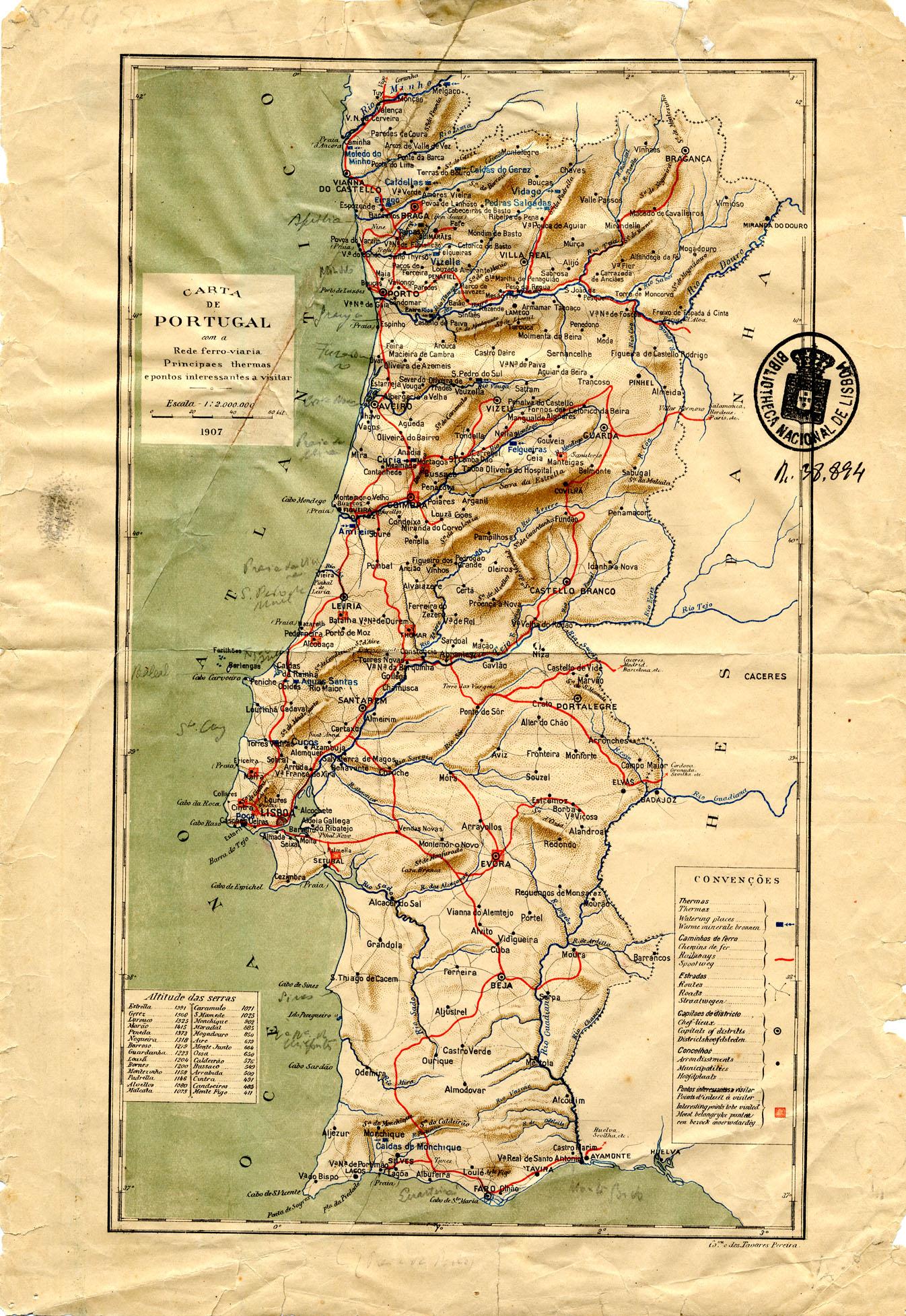 mapa cartográfico de portugal Memórias Cartográficas | A Educação do meu Umbigo mapa cartográfico de portugal