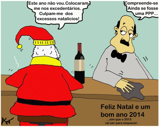 Cartoon Natal 2012 Xá
