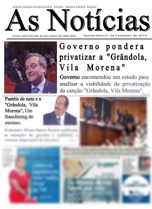 privatizar Grândola